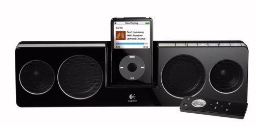 Logitech Pure-Fi Anywhere Compact Speakers for iPod (Black) by Logitech