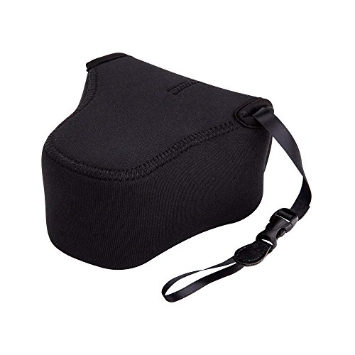 JJC Ultra-Light Neoprene Camera Case Pouch for Fuji Fujifilm X-T20 X-T10 X-E3 X-M1 + XC 16-50mm/XF 18-55mm/XF 23mm/XF 35mm f1.4,Canon EOS M50 M5 + EF-M 15-45mm and More Camera Below 5.0 x 3.3 x 5.1
