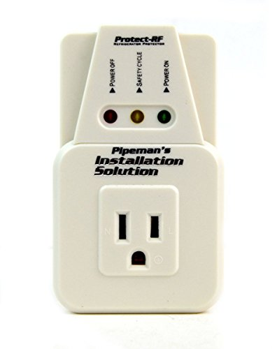 2 Pack Voltage Protector Brownout Surge Refrigerator 1800 Watts Appliance 2 USED ON: Refrigerators, Freezers, Water Coolers or any Appliance with a max current of 15 amps.