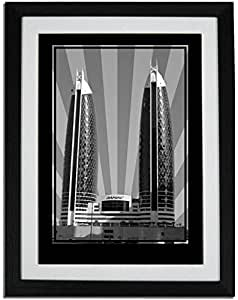 Photo of Damac Tower-Black And White No Text F01-NM (A3)