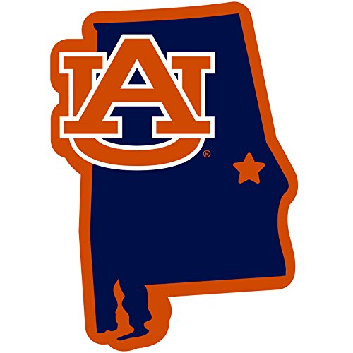 Siskiyou NCAA Auburn Tigers Home State Magnet, -