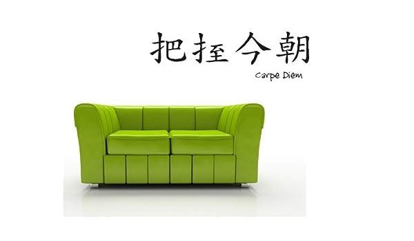Bilderdepot24 Tatuajes de pared Simbolos chinos (Carpe Diem ...
