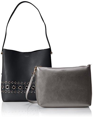 Tosca Blu Donuts - Shoppers y bolsos de hombro Mujer Negro (Black)