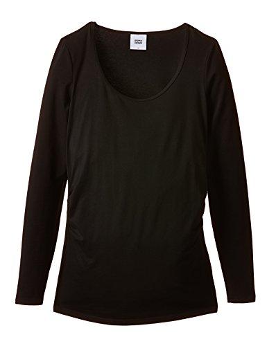MAMALICIOUS Sofia L/s Top - Basic 2 Pack - Camiseta para mujer Negro