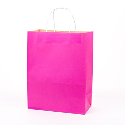 Hallmark Large Paper Gift Bag for Mothers Day, Birthdays, Weddings, Bridal Showers (Pink) - 5EGB4564