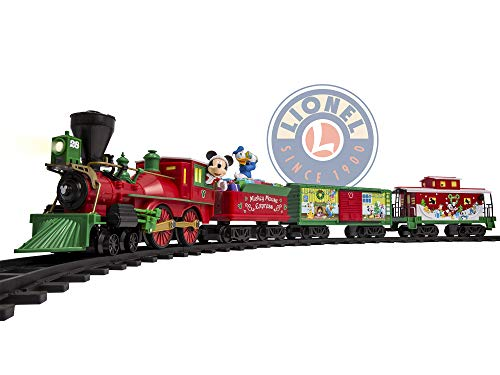Lionel Disney Mickey Mouse Express Battery-powered Model Train Set Ready to Play w/ Remote]()