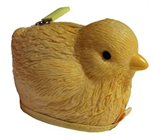 Rubber Chick (Chicken) Coin Purse Pouch / Case / Wallet with Zipper