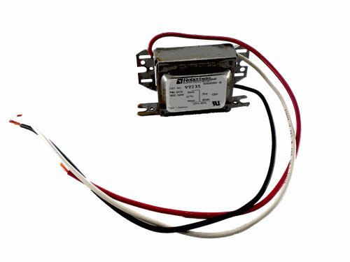 ROBERTSON 3P10133 Step Down Voltage Transformer, 277Vac, 60Hz Primary, 120Vac. Secondary, 25VA Max Load, Model VT235 AM (Replaces Robertson 3M10006, VT235 /A) ()