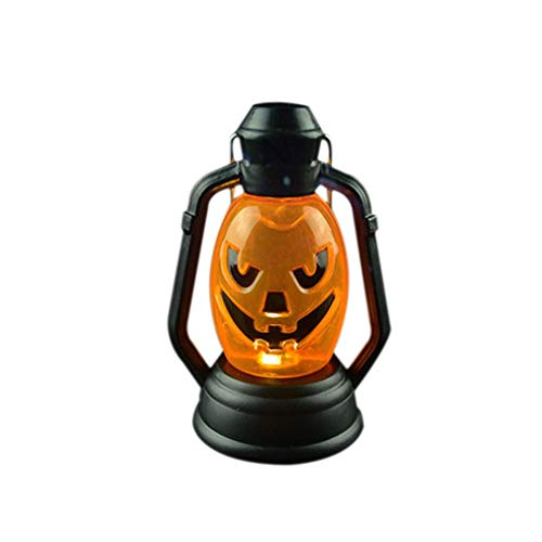 Mysky Funny Halloween Pumpkin Lights Portable Nightlight Haunted house decoration lamp (Random Type) -