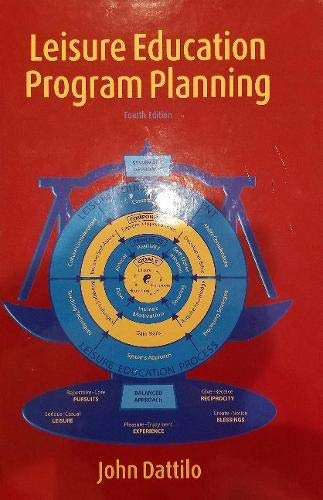 Leisure Education Program Planning
