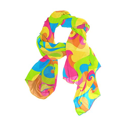 Psychedelic Lightweight multicolore Woman Colorful Modello di Alaza Colorful Scarf xw0c6T4
