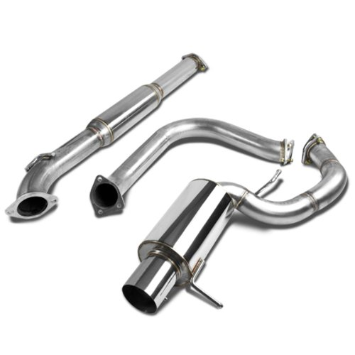 For Mitsubishi Eclipse Catback Exhaust System 4 inches Tip Muffler - 3 Gen -