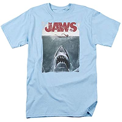 Jaws Shark Original Movie Poster T Shirt & Stickers