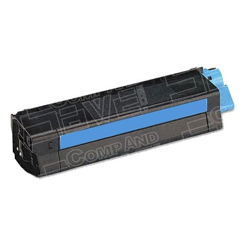 CompAndSave Replacement for Okidata C5100n/5200n/5300n/5400n High Yield Cyan 42127403 Laser Toner (42127403 Laser)