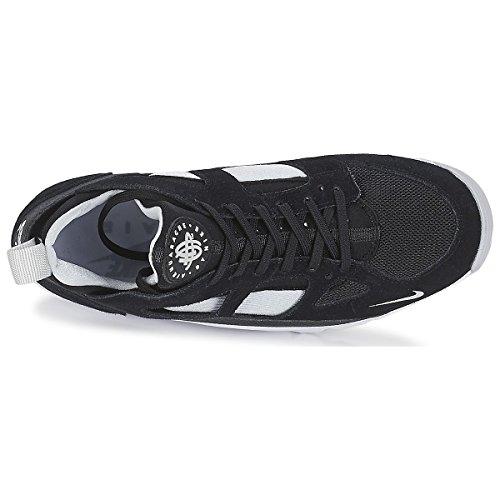 Nike Air Trainer Huarache Lo Prm, Scarpe Sportive Uomo Nero (Negro (Negro (Black/Pure Platinum-white)))