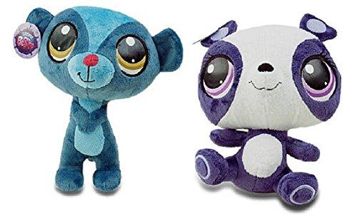 Littlest Pet Shop 9 Inch Plush Pet Figures Sunil Nevla Mongoose/Penny Ling ()