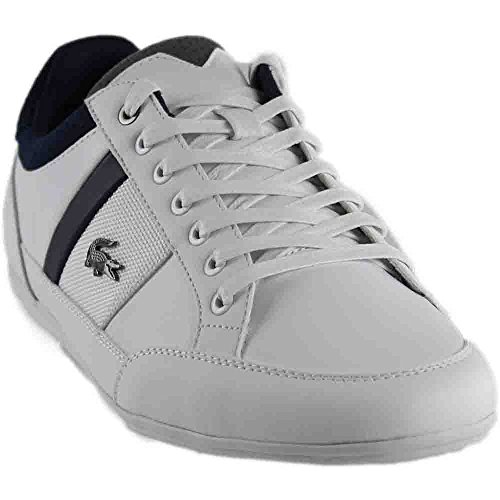 Lacoste Men's Chaymon 317 Sneaker White Navy Grey clearance fashionable clearance fast delivery clearance cheapest price cheap price pre order 100% authentic for sale GxM41Bxx
