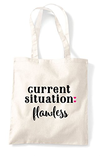 Bag Situation Natural Shopper Tote Current Flawless Statement WnfW7