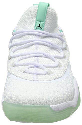 Nike Rise 117 Super 2017 Uomo Jordan Scarpe white Basket emerald Da Bianco Low fly black rqFrnBH
