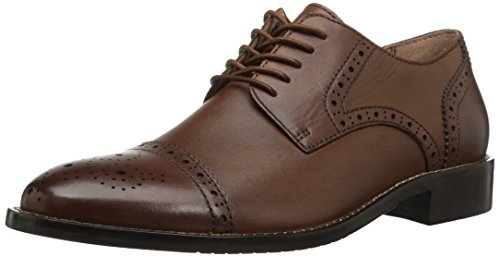 206 Collective Men's Georgetown Cap-Toe Oxford, Cognac, 8.5 D US