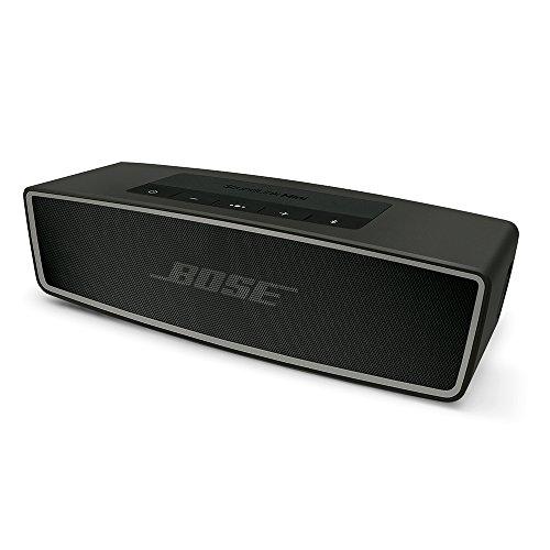 Bose Bluetoothスピーカー SoundLink Mini II ポータブル/ワイヤレス対応/通話可能 カーボン SLink Mini II CBN【国内正規品】