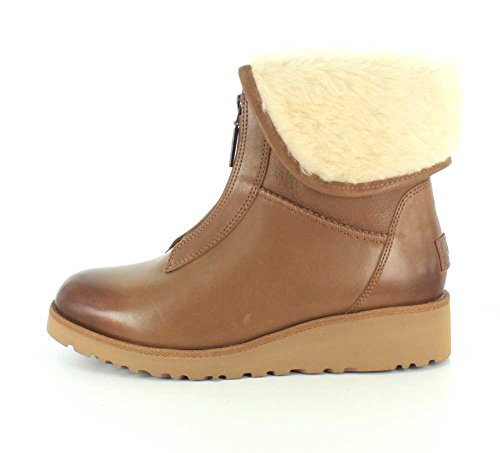 Ugg Australia Women's Caleigh Women's Leather Boots In Chestnut marrón