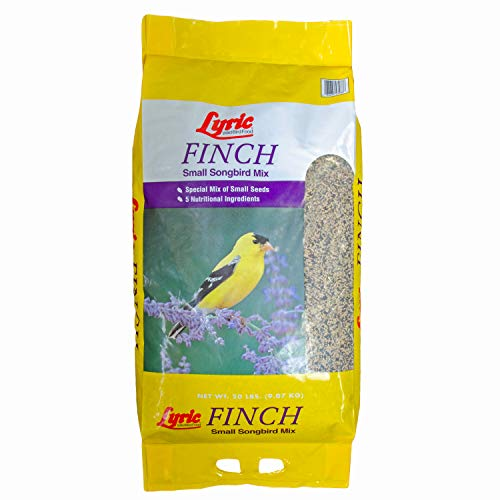 Lyric 2647408 Finch Small Songbird Wild Bird Mix, 20 lb