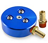 Ohio Diesel Parts Fuel Tank Sump Kit for Diesel or Gasoline Fuel Tanks with Two Barb Sizes (Blue)