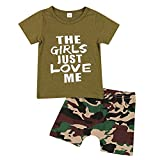Summer Toddler Baby Boys Camouflage Clothes Short