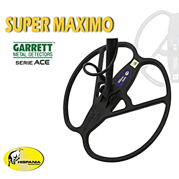 Hispania Plato Super Máximo para detectores de Metales Garrett Ace 150, Ace 250, EuroAce, 400i, 300i, 200i: Amazon.es: Jardín
