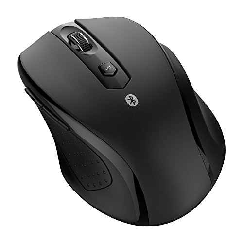 JETech M0884 Bluetooth Wireless Mouse for PC, Mac, and Android OS Tablet with 6-month Battery Life