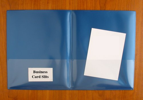 StoreSMART - Plastic Archival Twin Pocket Folders - Metallic Colors 6-pack: 1 of each color - For Business, School, & Home - R900MCP6 by StoreSMART® (Image #3)