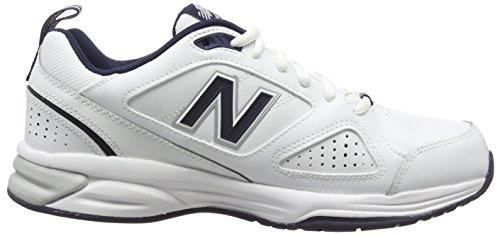 de Balance Chaussures White Homme 624v4 Fitness Navy New Blanc 115 BCq7q