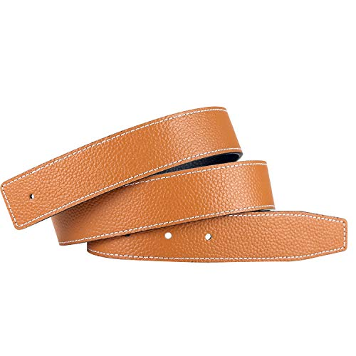Replacement Leather Belt Strap Reversible Replacement for sale  Delivered anywhere in USA
