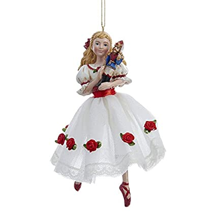 kurt adler 6 resin clara christmas ornament