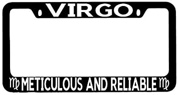 Chrome License Plate Frame Auto Accessory It/'s A Virgo Thing