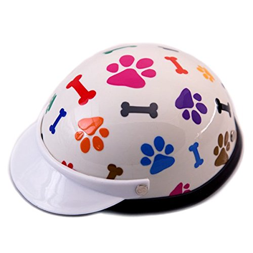 - Helmet for Dogs, Cats and All Small Pets, Pet Accessory - Bones & Paws for small dogs 5-10 lbs.