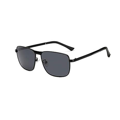 b4fce37b2b5 Z HA Men s Color Changing Polarized Sunglasses Driving Fishing Glasses  Smart Photochromic Lenses Rectangle Frame UV400 Protective