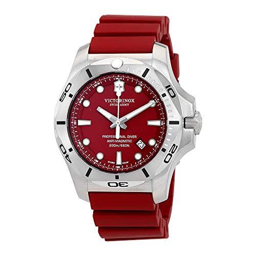 Victorinox V241735 INOX Men s Watches, Red Red, 45mm
