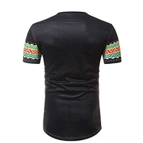 Cinnamou Camiseta Deporte Hombre, Camiseta de Africano Estampada Hombre Camisetas Deporte Ropa Deportiva Camisa de Manga Corta Slim Fit Casual para Hombres ...