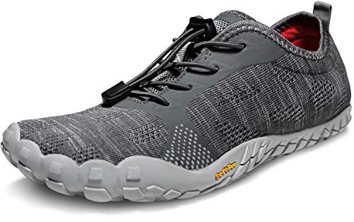 TSLA Men's Trail Running Minimalist Barefoot Shoe