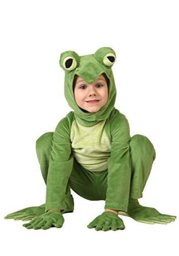 Little Boys' Toddler Deluxe Frog Costume 4T -
