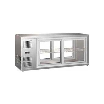 Pantalla refrigerados nevera minibar counter cm 131x51x55 +2 +8 ...