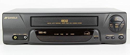 (Sansui 4 Head VHS HQ VCR Model VCR 4510D Player Recorder)
