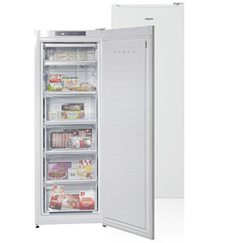 FUJICOM 180-L 6 Drawers Freezer – Reversible Door – No Frost System -Front Control Panels with Three Indicators: Activation, Warming, and Quick Freeze – 4 Removable Drawers