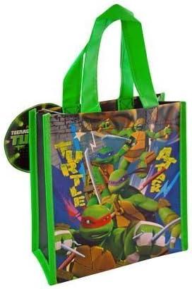 12-Pack Teenage Mutant Ninja Turtles TMNT Non-Woven Mini Party Tote Bags