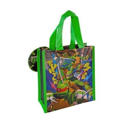 12-Pack Teenage Mutant Ninja Turtles TMNT Non-Woven Mini Party Tote Bags ()