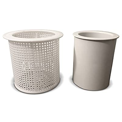 Aqualine Skimmer Basket - American Skimmer B37 and Float B38 Two Pieces - Made in The USA - Made: Garden & Outdoor