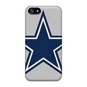 Fashion PC Case For Iphone 5/5s- Dallas Cowboys Defender Case Cover WANGJING JINDA