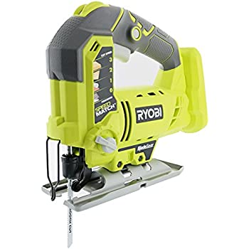Ryobi zrjs481lg 48 amp variable speed orbital jigsaw certified ryobi one p5231 18v lithium ion cordless orbital t shaped 3000 spm jigsaw battery not included power tool and t shaped wood cutting blade only keyboard keysfo Gallery